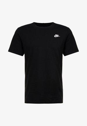 CLUB TEE - Camiseta básica - black/white