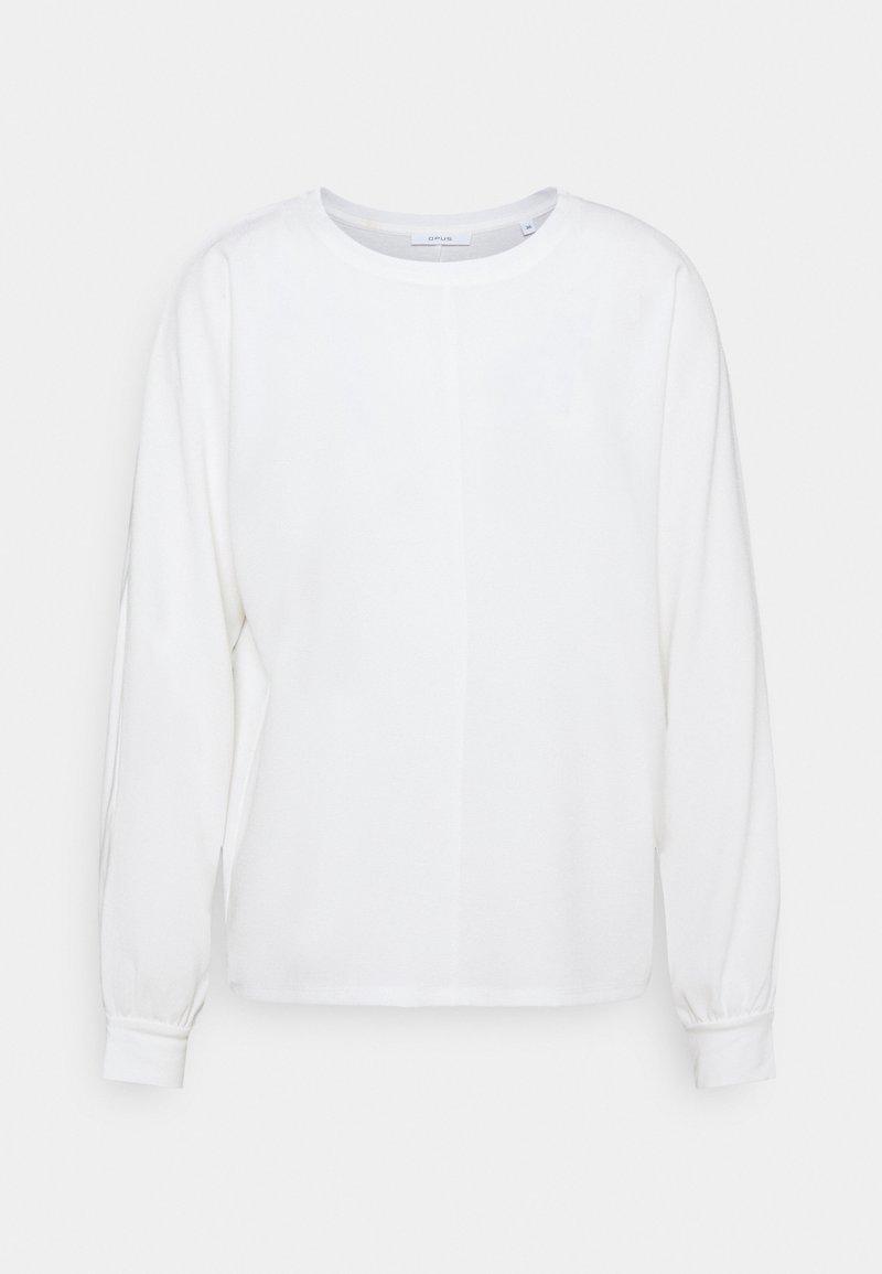 Opus - SUREEN - Long sleeved top - milk