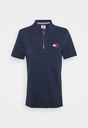 TOMMY BADGE POLO - Print T-shirt - twilight navy