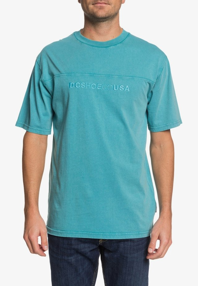 DC SHOES™ ROSEBURG - T-SHIRT FÜR MÄNNER EDYKT03483 - T-shirt basique - teal