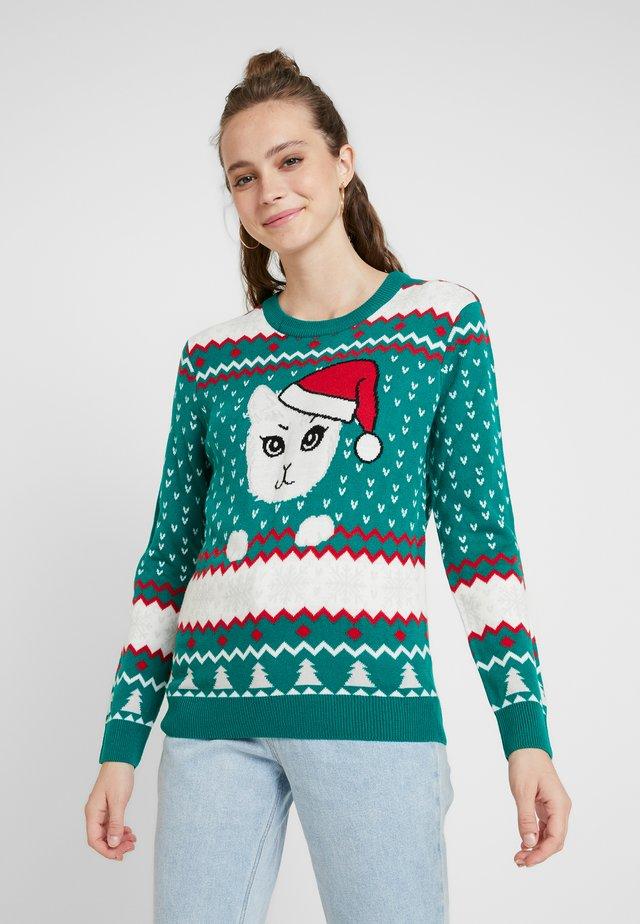 LADIES CHRISTMAS - Jersey de punto - x-masgreen