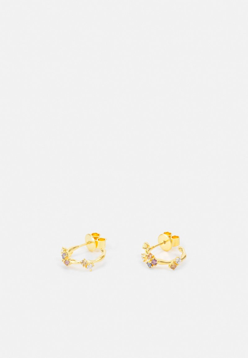 PDPAOLA - FIVE - Kolczyki - gold-coloured
