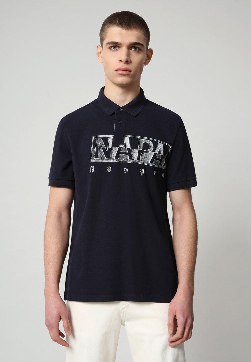Napapijri - EALLAR - Polo shirt - blu marine