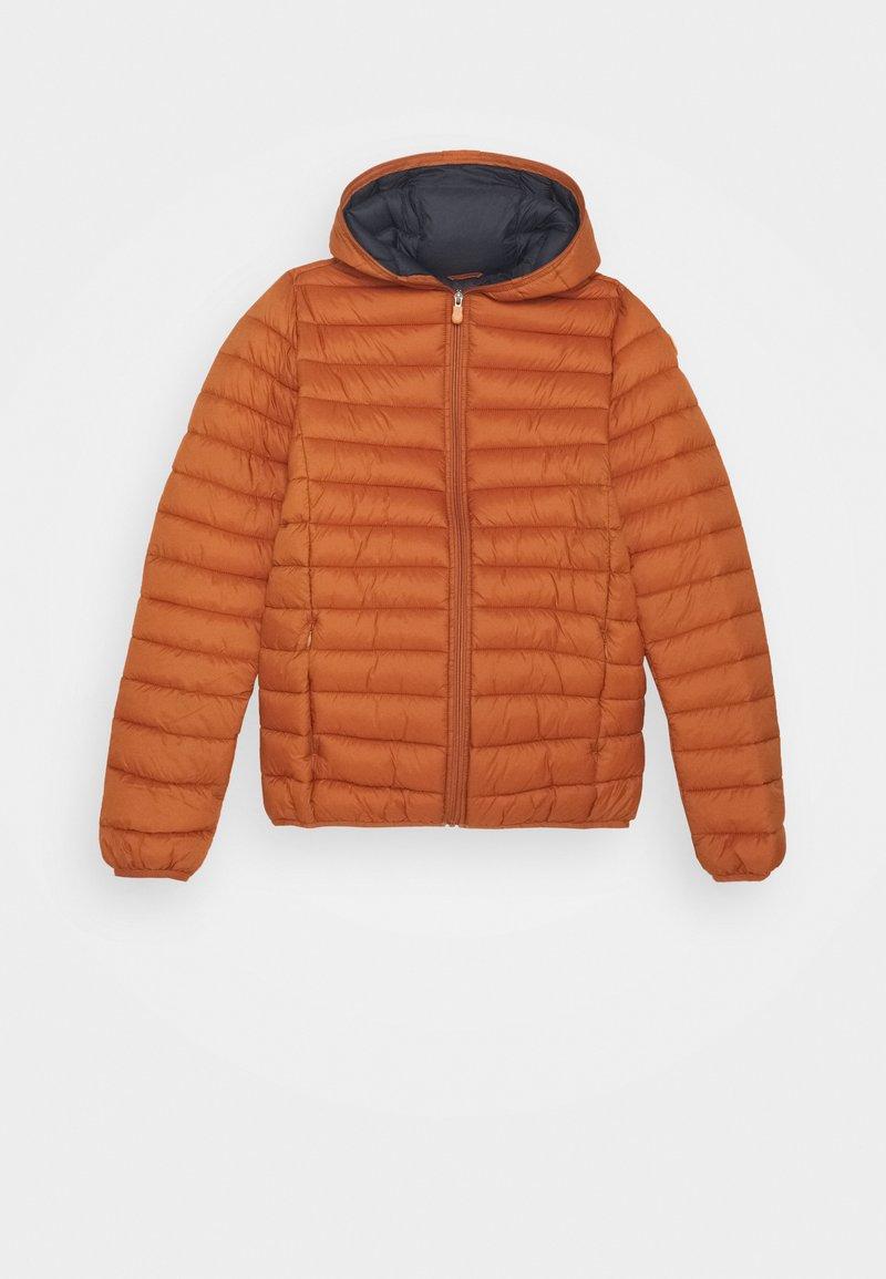 Save the duck - GIGA - Zimní bunda - ginger orange