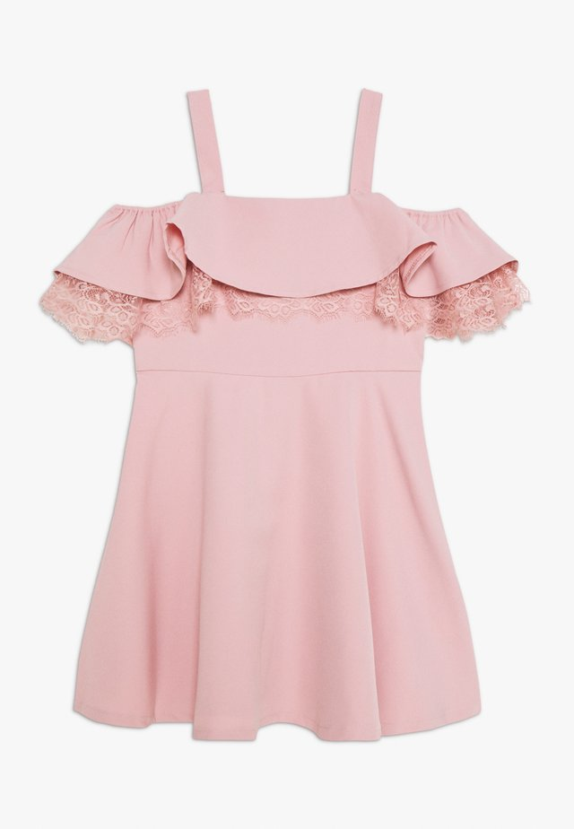 JOSIE FRILL DRESS - Cocktailkjoler / festkjoler - blush