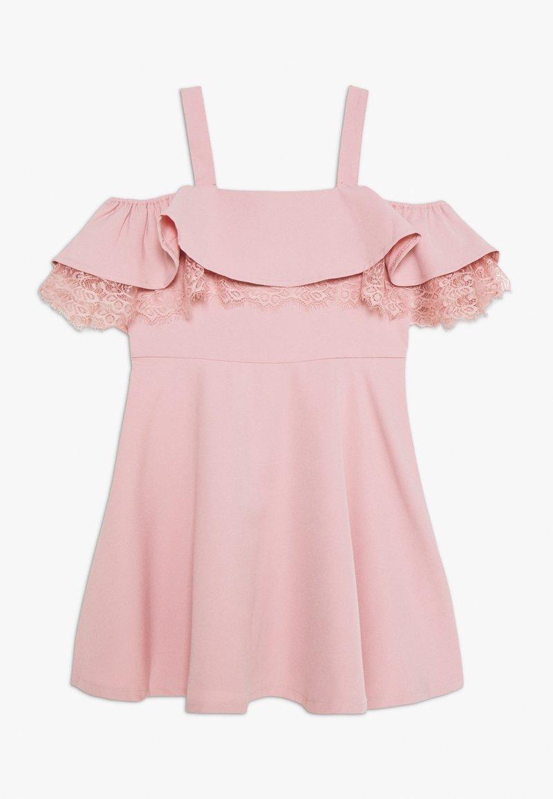 Bardot Junior - JOSIE FRILL DRESS - Cocktail dress / Party dress - blush