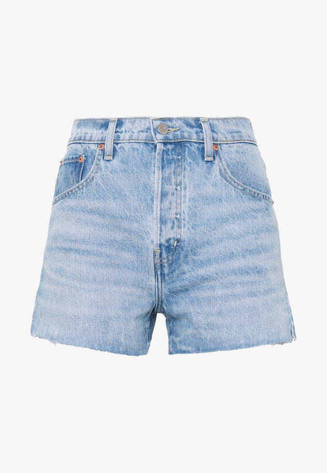 SYDNEY - Denim shorts - crystal lake