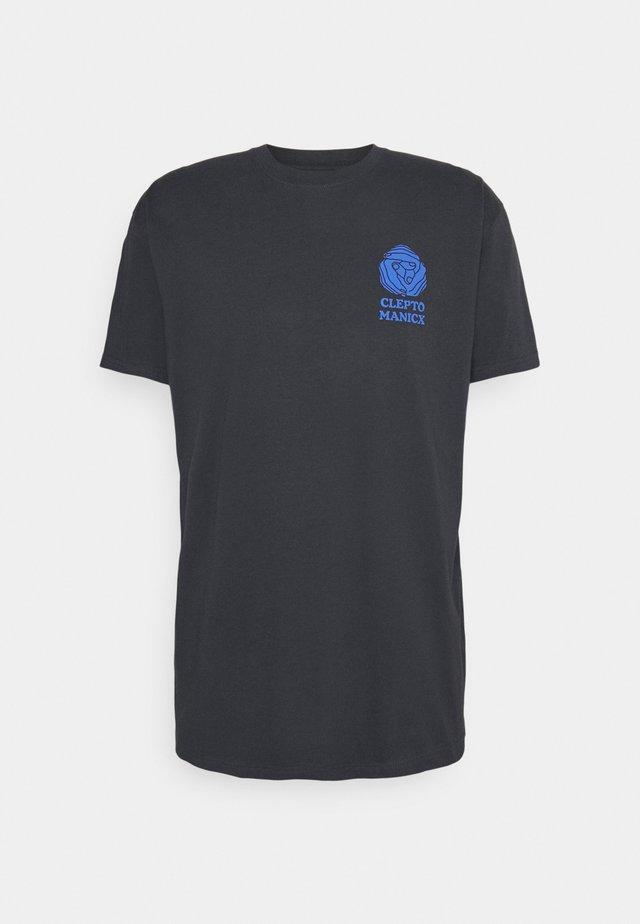 TOGETHER - Print T-shirt - blue graphite