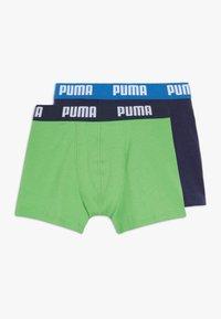Puma - BOYS BASIC 2 PACK - Pants - green/blue - 0