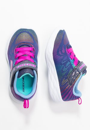GO RUN - Baskets basses - navy/multicolor foil