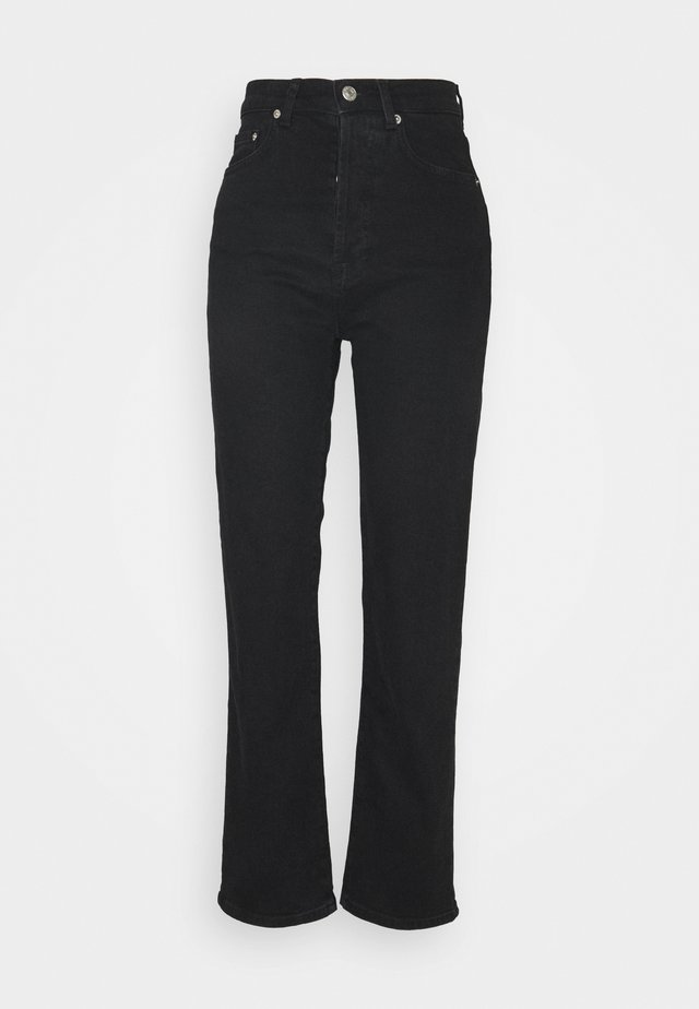 HIGH WAIST - Jean droit - black