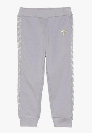 HMLMARGRET PANTS - Trousers - lilac/gray