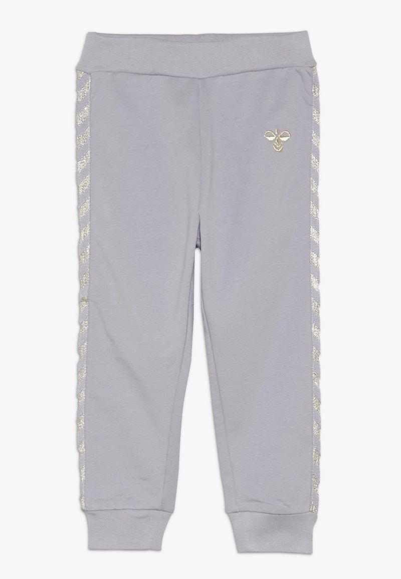 Hummel - HMLMARGRET PANTS - Trousers - lilac/gray