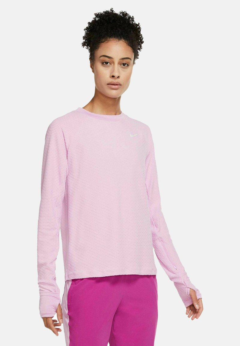 Nike Performance - Long sleeved top - rosa