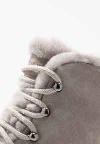 Kennel + Schmenger - BOBBY - Platform ankle boots - ombra/nature - 2