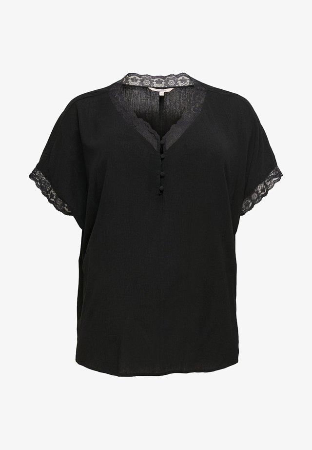 CURVY - Blouse - black