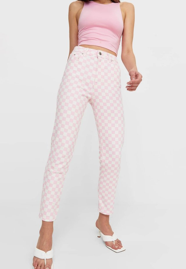MOM - Jeans slim fit - light pink
