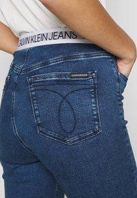 Calvin Klein Jeans - HIGH RISE SUPER SKINNY - Jeans Skinny Fit - dark blue - 5