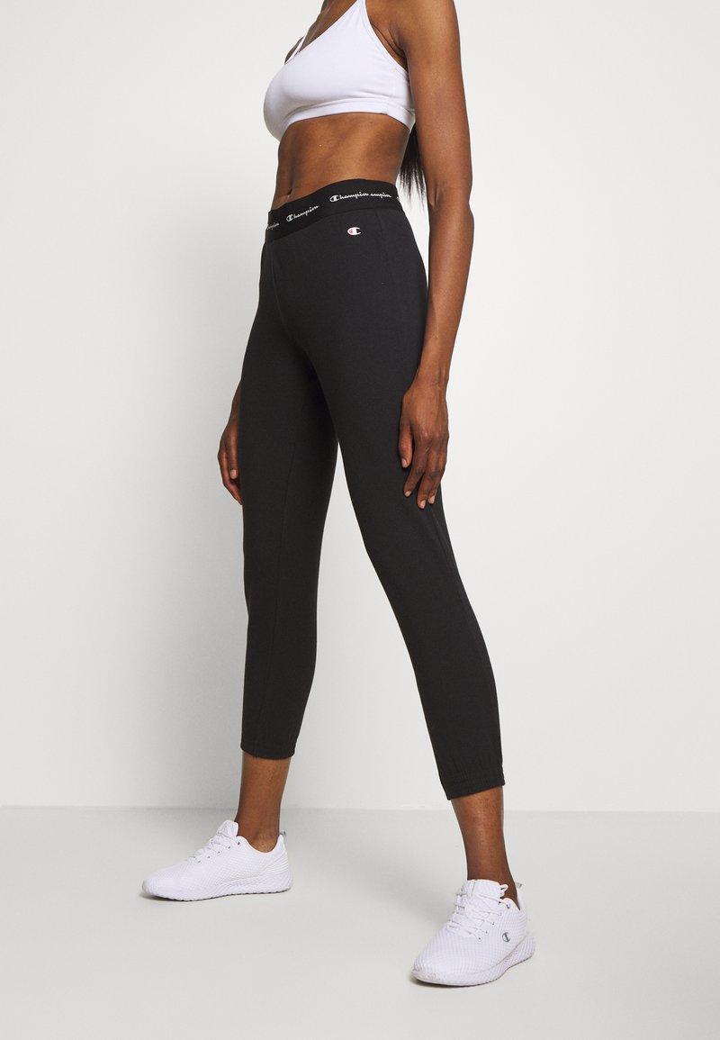 Champion - ELASTIC CUFF PANTS LEGACY - Tracksuit bottoms - black