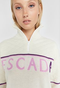 Escada Sport - LAVANDA - Stickad tröja - white - 3