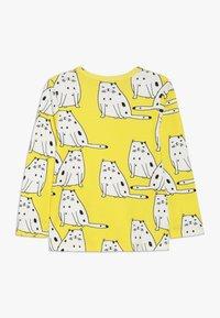 igi natur - Langærmede T-shirts - yellow - 1