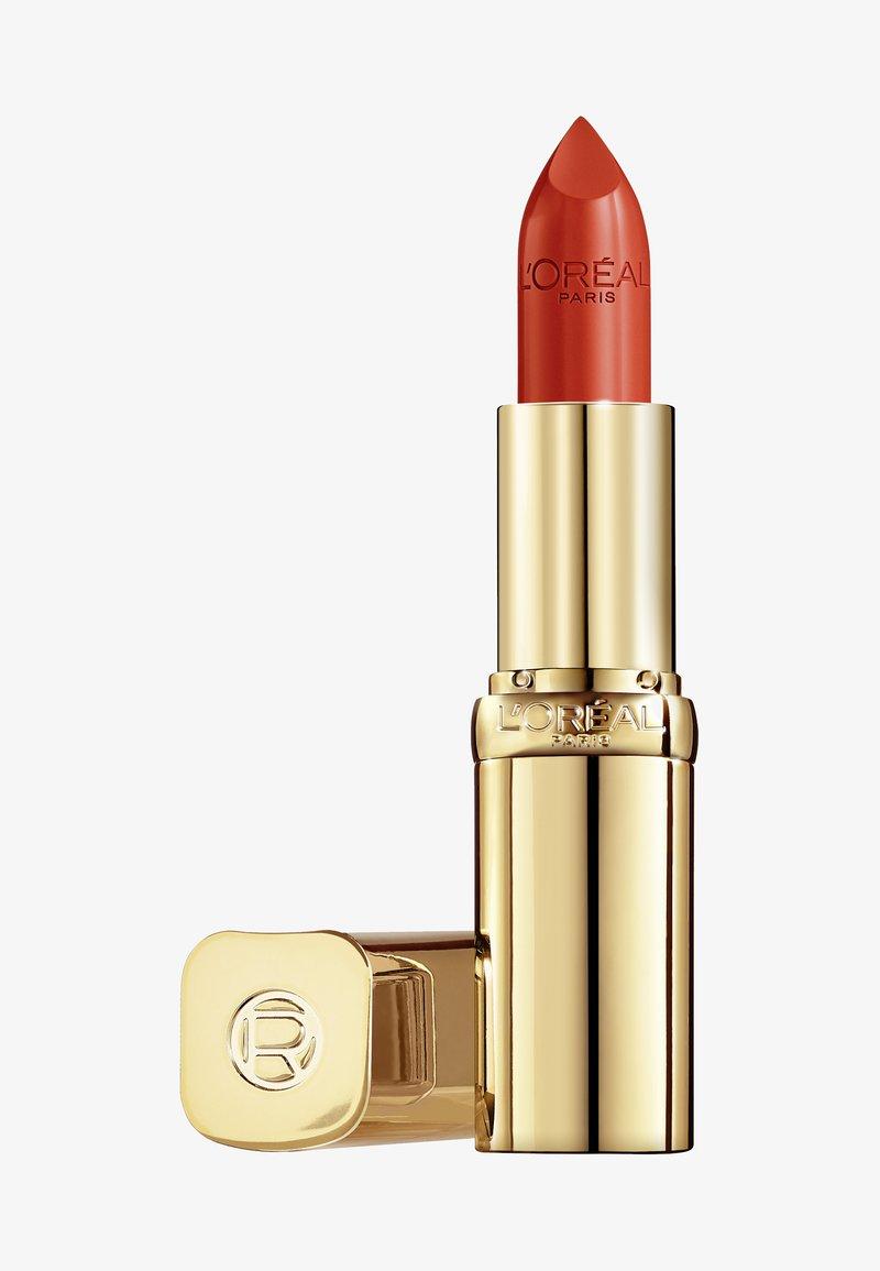 L'Oréal Paris - COLOR RICHE SATIN - Lipstick - 377 perfect red