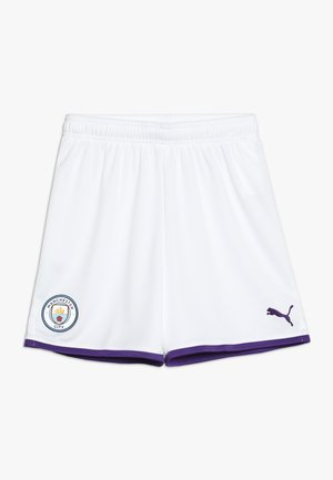 MANCHESTER CITY SHORTS REPLICA - Sports shorts - puma white/tillandsia purple
