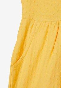 Name it - NMFDORTE - Jersey dress - sunset gold - 2