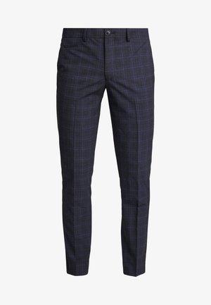 SLHSLIM KENT PANTS - Trousers - dark blue