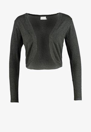 ASTRID BOLERO - Cardigan - dark grey melange