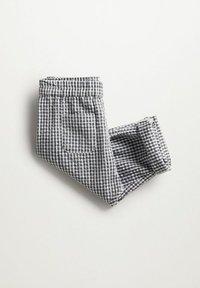 Mango - Trousers - grijs - 2