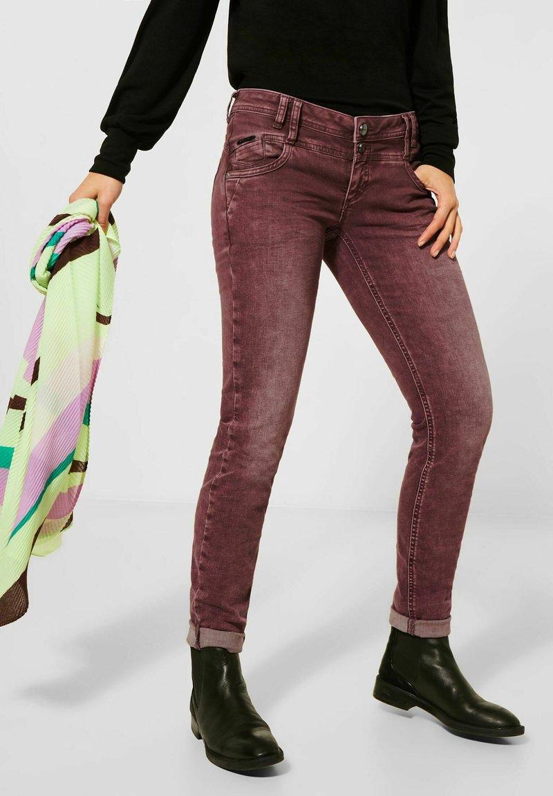 Street One - Straight leg jeans - rot