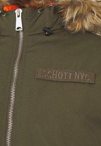 Schott - POWELL - Winter jacket - kaki - 7