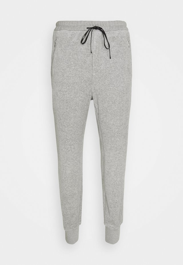 DROPPED RISE TAPERED  - Pantaloni sportivi - grey melange
