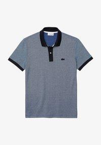 Lacoste - Polo shirt - bleu marine/bleu/blanc - 0