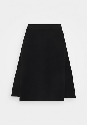 SHEILY - A-line skirt - black