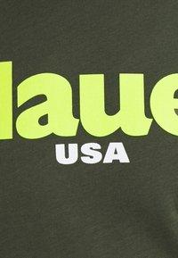 Blauer - T-shirt con stampa - dark green - 2
