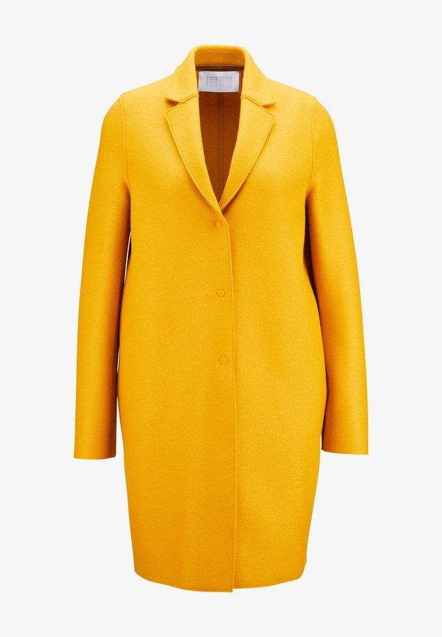 Classic coat -  golden yellow