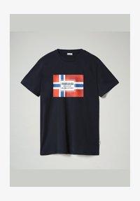 Napapijri - SERA - T-shirt med print - blu marine - 1