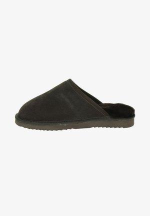 Pantoffels - bruin
