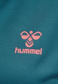 Hummel - ACTION  - T-shirt print - blue coral/tea rose - 3