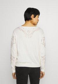 Desigual - GANTE - Pullover - white - 2