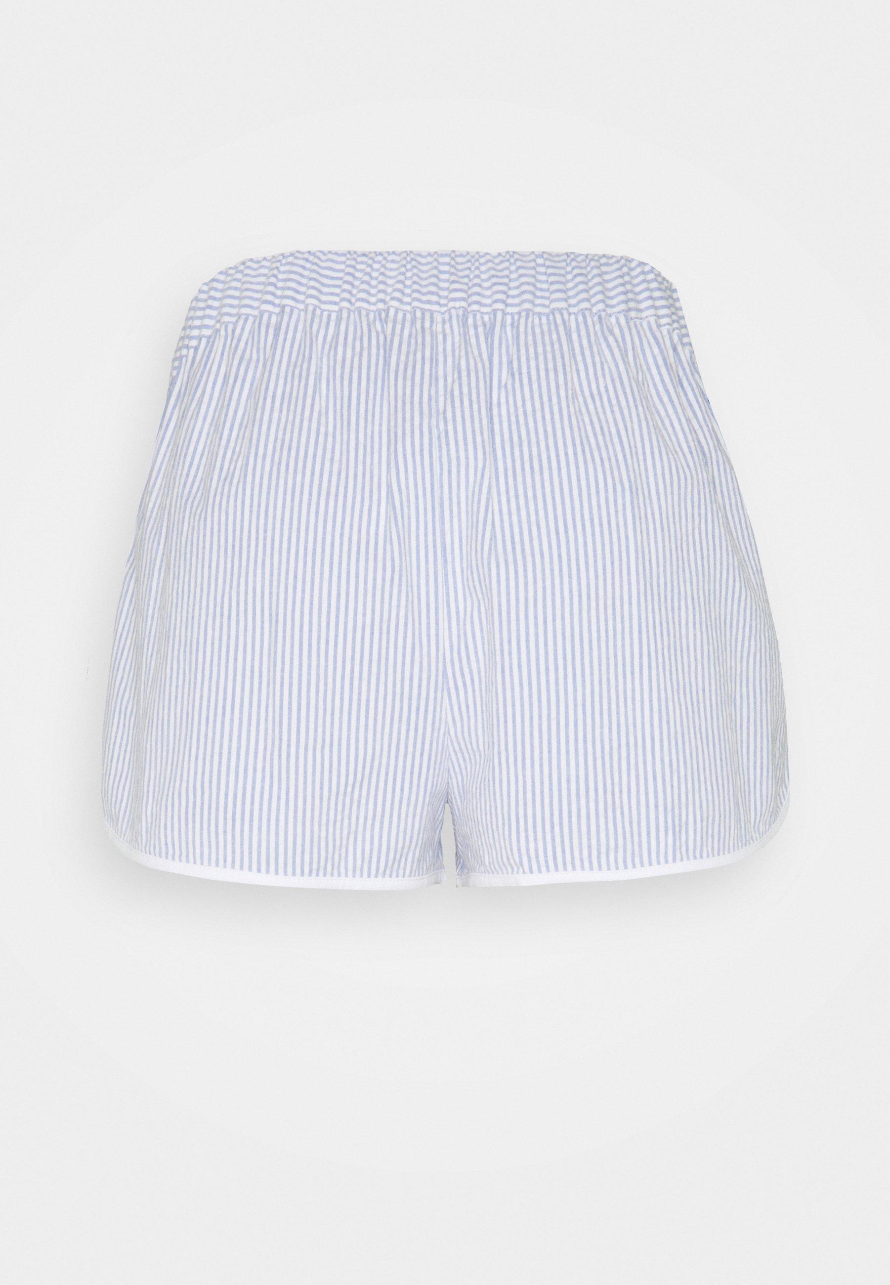Damen SEERSUCKER SHORT SET  - Pyjama