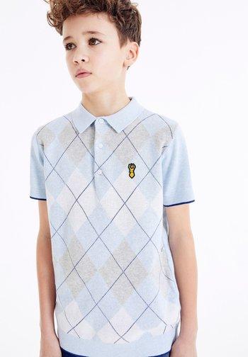 ARGYLE  - Polo shirt - blue