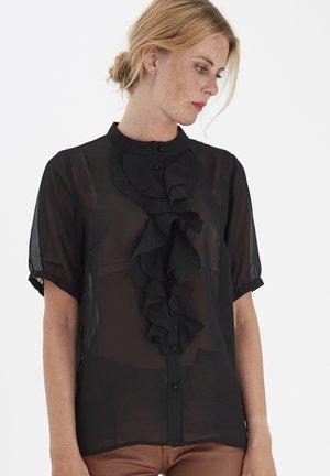 FRNAMIXO  - Button-down blouse - black