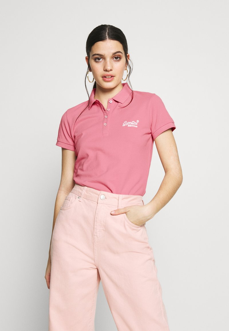Superdry - Polo shirt - soft pink
