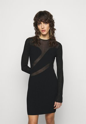 SLASH DRESS - Juhlamekko - black