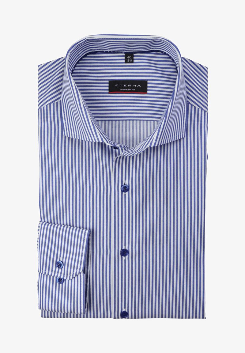 Eterna - MODERN FIT - Shirt - dunkelblau