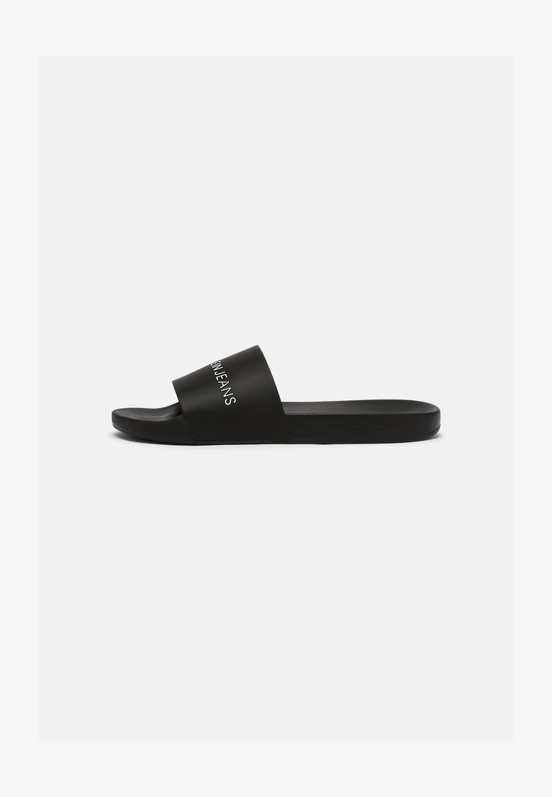 Calvin Klein Jeans - SLIDE INSTITUTIONAL - Mules - black