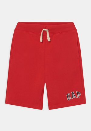 BOY LOGO  - Tracksuit bottoms - pure red
